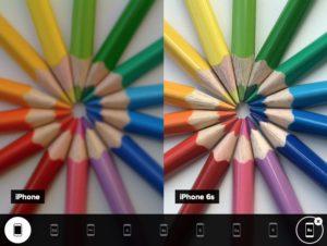 Qualité photo des iPhones de l'original au 6s